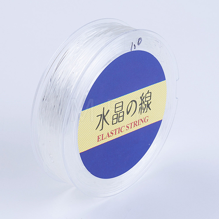 Japanese Round Elastic Crystal StringEW-G007-02-0.6mm-1