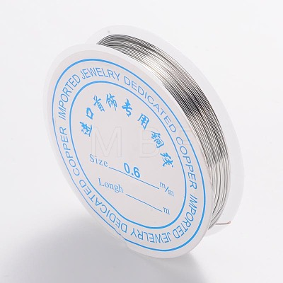 Copper Jewelry WireCW0.6mm006-1