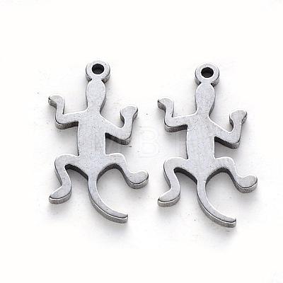 304 Stainless Steel PendantsSTAS-N092-48-1