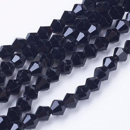 Imitation Austrian Crystal 5301 Bicone BeadsGLAA-S026-10-1