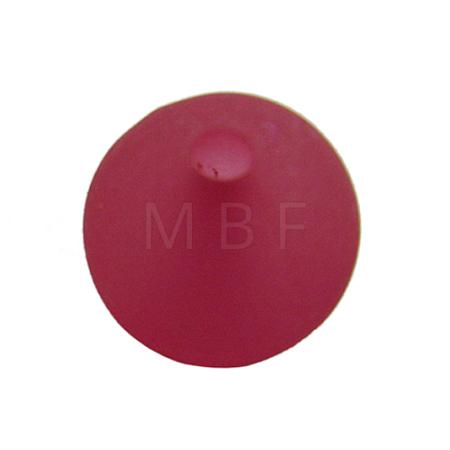 Round Transparent Acrylic BeadsPL705-3-1
