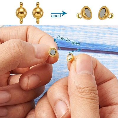 Brass Magnetic ClaspsKK-TA0007-32-1