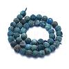 Natural Apatite Beads StrandsG-E561-03-8mm-2