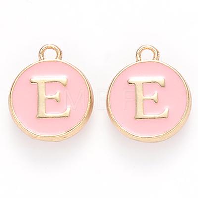 Golden Plated Alloy Enamel CharmsX-ENAM-S118-07E-1