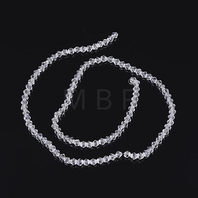 Imitation Austrian Crystal 5301 Bicone BeadsGLAA-S026-07-1