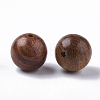 Natural Wood BeadsWOOD-S666-10mm-01-2