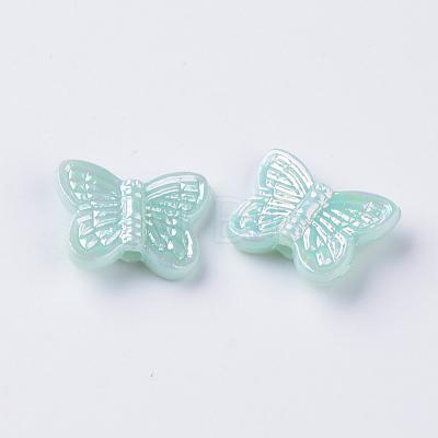 Opaque Acrylic BeadsMACR-Q239-016-1