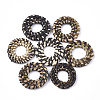 Handmade Reed Cane/Rattan Woven Linking RingsWOVE-T006-011A-1