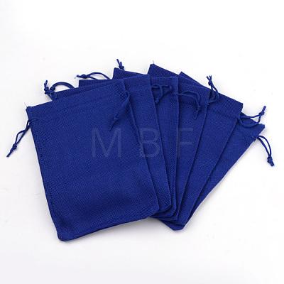 Burlap Packing Pouches Drawstring BagsABAG-Q050-7x9-22-1