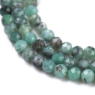 Natural Emerald Beads StrandsG-R475-022B-1