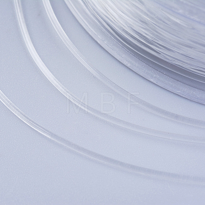 Japanese Round Elastic Crystal StringEW-G007-02-0.5mm-1